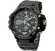 Men's Watch Sports Multi-Function Analog-Digital Dial Water Resistant