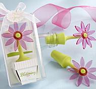 Blooming Flower rolha de garrafa de lunático Caixa de presente da janela