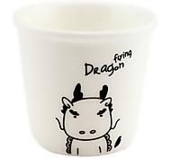 Dragão de 12 Zodíaco chinês Ceramic Cup