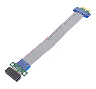 36 Pin Ribbon PCI Express (PCI-E) Cable de extensión para PC de escritorio
