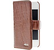 Willow raya Soft PU Leather Case cuerpo completo con ranura para tarjeta para el iPhone 4/4S (colores opcionales)