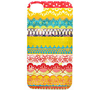 Lace Cotton Print Back Case for iPhone 4/4S