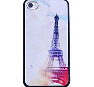 Eiffel Tower Noche impresión de nuevo caso para el iPhone 4/4S