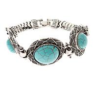 Vintage Style Bohême Turquoise Hat bracelet de forme