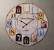 "23""H Autique Style Wall Clock"