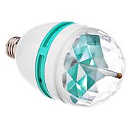 Spot LED RGB E26/E27 3W 3 LED Haute Puissance LM AC 85-265 V