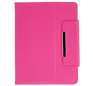 Fashion Design Protectiove Case with Stand for 8 Inch Tablet(Rose)