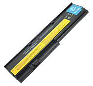 5200mah Replacement Laptop Battery for IBM ThinkPad X200+C58 - Black