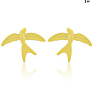 Stud EarringsJewelry Golden / Yellow / Orange Alloy Daily