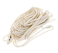 Outdoor White Nylon Long Rope