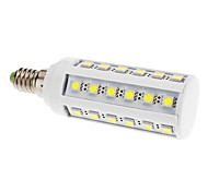 E14 6 W 36 SMD 5050 LM Cool White T Corn Bulbs V