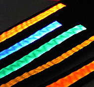 LED Safety Nylon Pure Color Leash for Pets Dogs (Assorted Colors, Sizes)