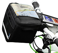 Outdoor Portable Bicycle Front Bag with Case for Mobile Phone Less Than 5.5""