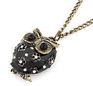 Korea Style Owl Pendant Necklace