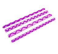 Cake Mehl Zucker Ribbon Craft Cutter Fondant DIY Werkzeug verziert Mold