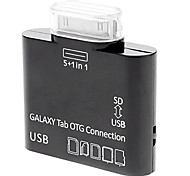 5 em 1 OTG adaptador USB SD Card Reader Samsung Galaxy Note 10.1 N8000