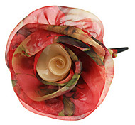 Noble Silk Flower Hair Clip