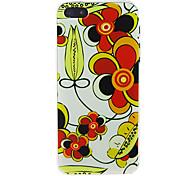 Cartoon Flower nuevo caso para el iPhone 5/5S