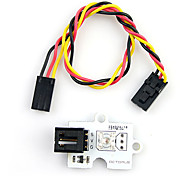 Fre(For Arduino) Yellow Light LED Brick for (For Arduino) (Works with Official (For Arduino) Boards)