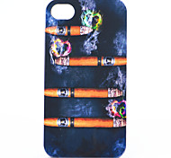 ABS Cigar Back Case for iPhone 4/4S