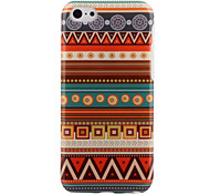 Aztec Style Colorful Stripe PC Hard Back Case for iPhone 5C