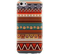 Aztec Art bunte Streifen-PC hart zurück Fall für iPhone 5C