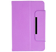 360 Degree Rotating Case with Stand for 7 Inch Tablet(Purple)