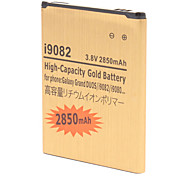 High Capacity 2850mAh Extended Lithium-ion Gold Battery for Samsung Grand DUOS i9082/i9080