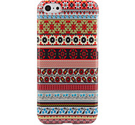 Special Aztec Stripe Flower PC Hard Back Case for iPhone 5C