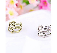 Korean Fashion Worn With A Variety Of Cool Snake Cascading Ring Ring R716-R717