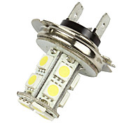 Merdia 2 Pcs H7 White 13 5050 SMD LED Foglight Head Light Bulb Lamp-LEDD001B13H7