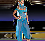 Alluring Indian Dancer Blue Apparel Women's Halloween Costume