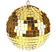 """Oro brillante con acabado de espejo Bolas de la Navidad Ornamento 6 """"(150 mm)"""