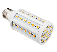 E26/E27 10 W 60 SMD 5050 850-890 LM Warm White T Corn Bulbs AC 220-240 V