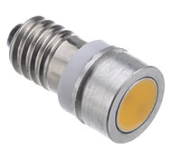 E10 0.5W 28-30LM 2800K Warm White Light LED Bulb for Car (DC12V)