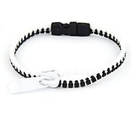 Fluorescence Color Zipper Pattern Bracelet(Random Color)
