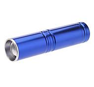 3-Mode Cree XP-E Q5 LED Zoom Flashlight (240LM, 1xAA, Blue)