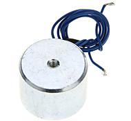 20 x 30 mm DC Electro Holding Imán 10kg fuerza de atracción (12 V / 22 cm-Cable)