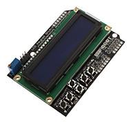 LCD1602-7 monitor 5V Display LCD Pantalla Azul de Cristal Líquido con luz de fondo ECT