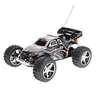 Wltoys Black 2019 Remote Control Mini Racing Car with Flashing Light and Road-block