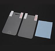 98% de la película del protector del diamante brillante de alta transparencia Lavable conjunto con paño de microfibra para el iPhone 4/4S