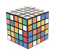 SHS 5x5x5 Brain Teaser Magic IQ Cube Toy (Black Base)