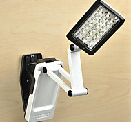 1.3W 22-LED Clip-on Rechargeable Fold Table/Desk Lamps(White)