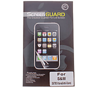 Professional Matte Anti-Glare LCD Screen Guard Protector for Samsung S5780 Wave