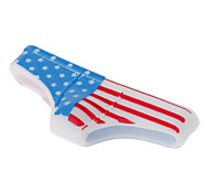 Funny Designed American Flag Pattern Triangle Pants Shape Home Button Case for iPhone 4/4S/5/5S and Others