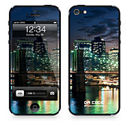 "Da Code ™ Skin for iPhone 5/5S: ""Green Lights from Brooklyn"" (City Series)"