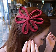 Sweet Multicolor Fabric Barrettes For Women(Pink,Royal Blue And More)(1 Pc)