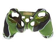 Silicone Skin Case for Sony PS2 PS3 Controller Camouflage