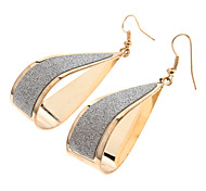 (1 Paar) Fashion Goldlegierungs Ohrringe (Gold)