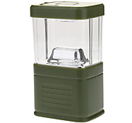 3W LED Outdoor Camping Lantern Light (3xD Cell, Green)